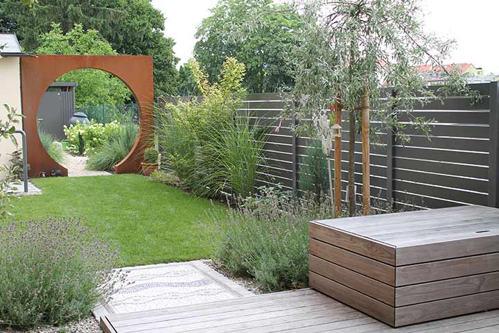 Gartenarchitektur 2 3